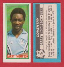 Coventry City Garry Thompson 134